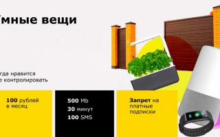 Новый тариф от Билайн для «умных вещей» в доме