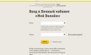 Знакомство с Личным кабинетом Билайн – регистрация, основные функции, версии интерфейса