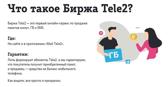 Что такое биржа теле2