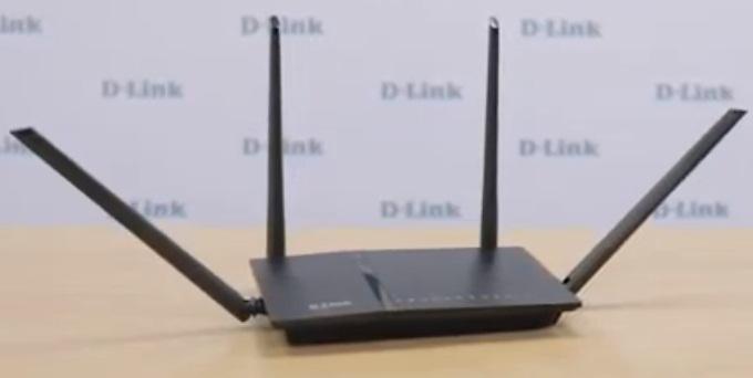 Wi-Fiроутер «ДЛИНК ДИР-815»